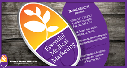 Essential Medical Marketing Business Cards