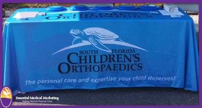 South Florida Children's Orthopaedics Table Throw