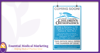 South Florida Children's Orthopaedics Poster